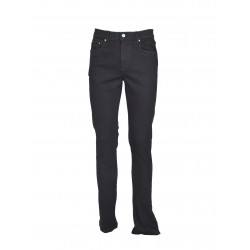 JEANS REGULAR WAMPUM NERO